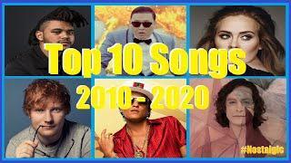 Top 10 songs of the Decade 2010 - 2020 (Nostalgia)