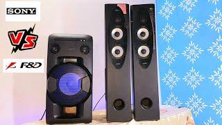 Sony MHC V11 VS F&D T60X BATTLEGROUND (SOUND COMPARISON) PARTY SPEAKER VS TOWER SPEAKER