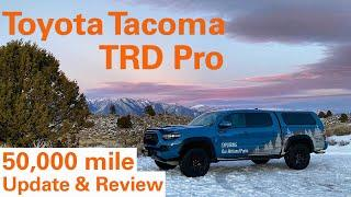 Toyota Tacoma TRD Pro 50,000 mile Long Term Update and Review.
