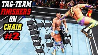 WWE 2K20 Tag-Team Finishers On Chair Part 2! Top 7