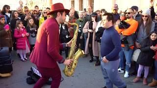 """""""L' Amour Toujours"""" - STREET SAX PERFORMANCE"""