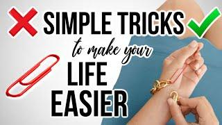 10 Simple Tricks That Will Make Your LIFE EASIER! *mind-blowing*