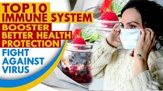 Top 10 Immune System Booster to Fight Viruses and Keep Strong #virus #2020 #staysafe #naturally
