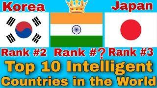 Top 10 Most Intelligent Countries in the World 2020/ബുദ്ധിമാന്മാരുള്ള  10 രാജ്യങ്ങൾ/Technical Talks