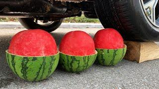 Top 10 Amazing Watermelon Experiment Car VS | Crushing Crunchy & Soft Things by Car | Test Ex