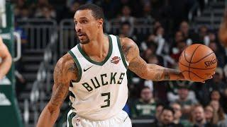 George Hill Is The NBA's 3-Point Leader | 2019-20 NBA Top 3P%
