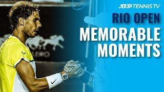 Top 5 Most Memorable Moments at the Rio Open