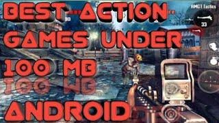 Top 10 action games under 100 mb for Android (online and offline) // TOP 10 GAMES