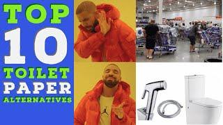Top 10 Toilet Paper Alternatives (Why are you laughing?  This is serious ****)