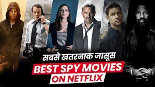 Top 10 NETFLIX Best Spy Movies Dubbed In Hindi All Time Hit | Best Detective Movies | Movies Bolt