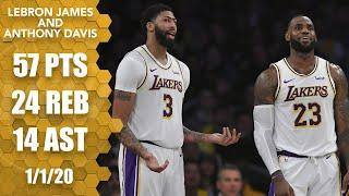 LeBron records a triple-double, Anthony Davis drops 26 for Lakers vs. Suns | 2019-20 NBA Highlights