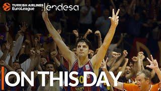 On This Day, May 11, 2003: Barcelona wins the EuroLeague for the first time