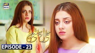 Mera Dil Mera Dushman Episode 23   23rd March 2020   ARY Digital Drama