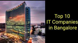 Top 10 IT Companies in Bangalore 2020 l Best 10 Software Development Companies in Bangalore