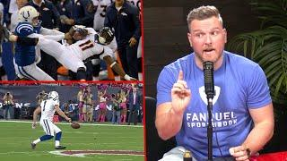 Pat McAfee Breaks Down His Best NFL Moment