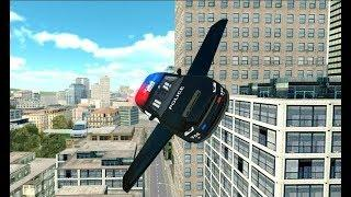 New Flying Police Car Simulator | Rescue City Police Car Android GamePlay | By Game Crazy