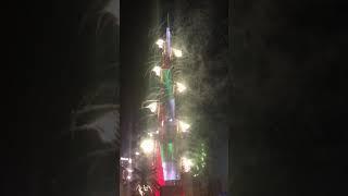 MY NO EDIT BURJ KHALIFA DUBAI 2020 NEWYEAR'S FIREWORKS.