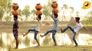 New Top Funny Comedy Videos 2020 Very Funny Stupid Boys Episode /5 Indian Fun