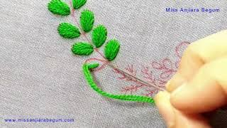 Easy Round Needle craft, Circle Hand Embroidery Design, Pillow/Cushion Cover Design, Wall mate-278