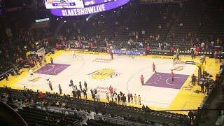 Live From Staple Center LA Lakers Vs Dallas Mavericks