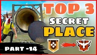 Top 3 Secret Place FreeFire || Part -14 || Garena Free Fire -4G Gamers