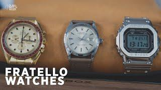 Rolex, G-Shock, Grand Seiko, and of course, #SpeedyTuesday – A Conversation with Fratello Watches