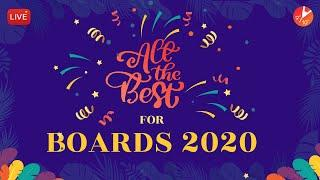 All The Best for ICSE/CBSE Board Exam 2020 | Motivational Message For ICSE/CBSE Exam 2020 | Vedantu