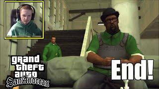 CJ Confronts Big Smoke End Of The Line- GTA San Andreas Final Mission Ending