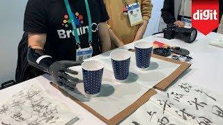 You Can Move The Fingers On This Prosthetic Hand With Your Mind - Made By BrainCo - From CES 2020