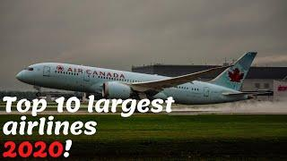 Top 10 larget airlines in the world 2020  # number one airline #best airline 2020 #largest airline