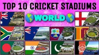 Top 10 Best Cricket Stadiums | Pick One From Each Country | #ArbabNiazStadium #MoteraCricketStadium