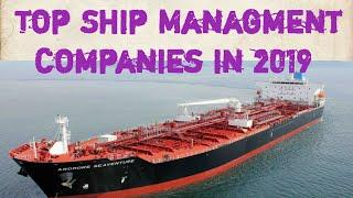 Top 10 Ship Management Companies in 2019