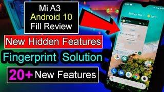 Mi A3 Android 10 Official Update Full Review | New 10+ Features | Android 10 First Look | Mi A3