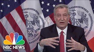 Bill De Blasio: 52 Cases Of Pediatric Multii-Inflammatory Syndrome Detected, 1 Death | NBC News NOW