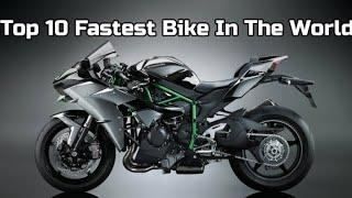 Top 10 fastest superbikes in the word