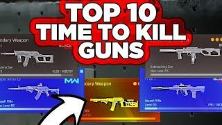 Top 10 Time To Kill Guns & Best Loadout Warzone for all of them, Warzone Tips by P4wnyhof
