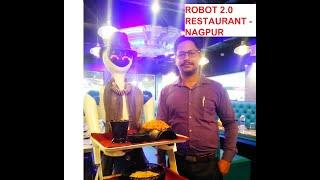 Robot Restaurant  - First time in Nagpur | Future of Dining | Robo 2.0 serve food at this restaurant