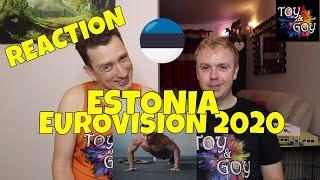ESTONIA EUROVISION 2020 REACTION: Uku Suviste - What Love Is