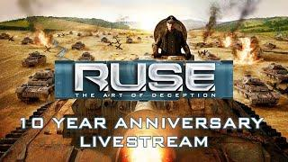 R.U.S.E. 10 Year Anniversary Livestream