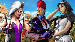 Top Ten Moms in Fighting Games