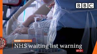 Coronavirus: NHS waiting list 'could hit 10 million this year' - Top stories this morning - BBC