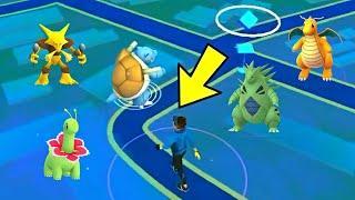 Pokemon Go Level 1 Players Catch Rare Pokemon (TOP 10 GEN 1&2)