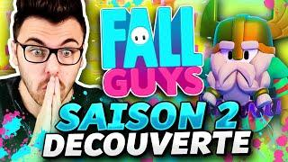 FALL GUYS : Découverte SAISON 2 ! TOP 1 direct ?! (+ Pass de Saison)