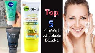 Top 5 Face Wash under 250 = Face Wash for Acne Removal | Beauty Tips for Face