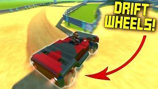 Drift Race with Drift Wheels on a Drift Course for ULTIMATE DRIFT! Scrap Mechanic Multiplayer Monday