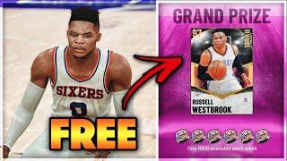 *FREE* GALAXY OPAL RUSSELL WESTBROOK GAMEPLAY!! IS HE A TOP POINT GUARD IN NBA 2K21 MyTEAM??