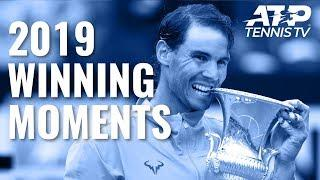 Every ATP Championship Point & Trophy Lift in 2019