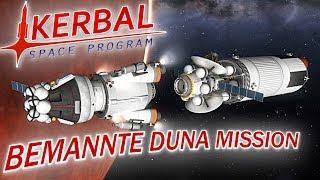 KERBAL SPACE PROGRAM DUNA BEMANNTE MISSION Kerbal Space Program Deutsch German Gameplay