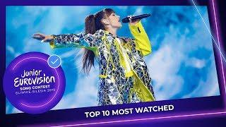 TOP 10: Most watched entries of Junior Eurovision 2019