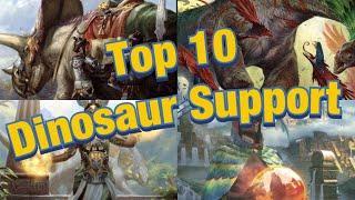 MTG Top 10: Dinosaur Support Cards